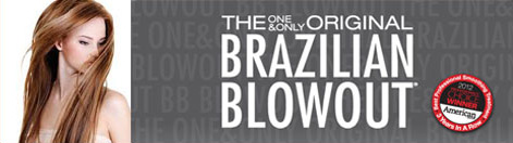 Brazilian Blowout certified salon, hair straightening, Zero+